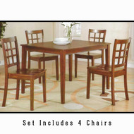 P2503 Square Table and Chairs
