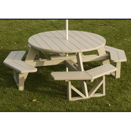 PWPH53 Muskoka POLYWOOD Octagon Picnic Table