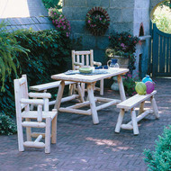 RN21B Farmer's Table and Bench Set