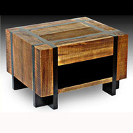 UH27960ET Barn Wood One Drawer Nightstand