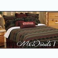 WR26 McWoods Bedding Set