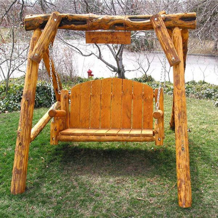 2105 Rustic Aspen Porch Swing