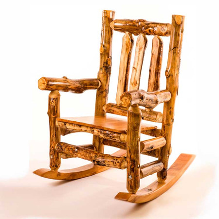 2221 Large Rustic Rocking Chair