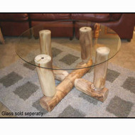 3216 Glass Top Coffee Table