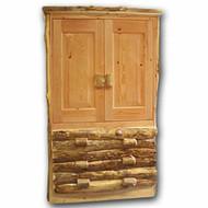 4107 Rustic Armoire/Entertainment Cabinet