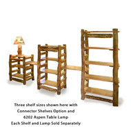 4220 Long Pond Aspen Shelves/Bookcases