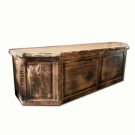 4233 Rustic Bed Bench Chest