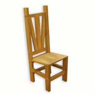 5523 Barn Wood Dining Chair