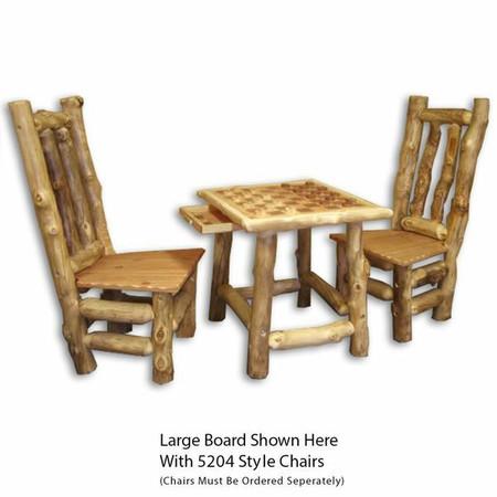 6105 Rustic Checkerboard Table