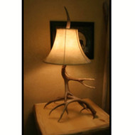 6107 Real Whitetail Antler Table Lamp