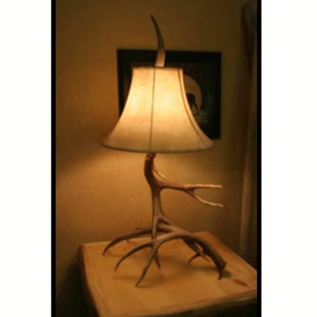 6107 Real Whitetail Antler Table Lamp