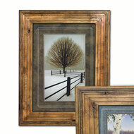 6201 Aged Colonial Picture Frame