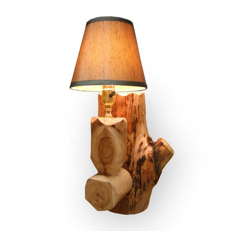 6218 Log Wall Sconce Lamp