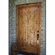 6231 Wood Entry Door