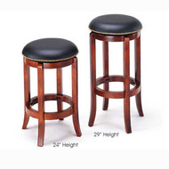 A07198 Cherry Finish Bar Stool