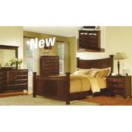 A19934 Espresso Finished King Bedroom Set