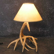 CHW2L Whitetail 2 Antler Table Lamp