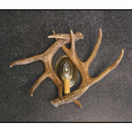 CHW2S Whitetail 2 Antler Sconce