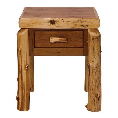 FL11020 One Drawer Nightstand - Traditional