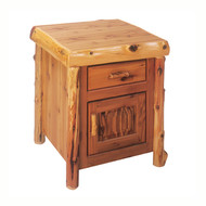 FL14040 Enclosed End Table/TV Stand - Traditional