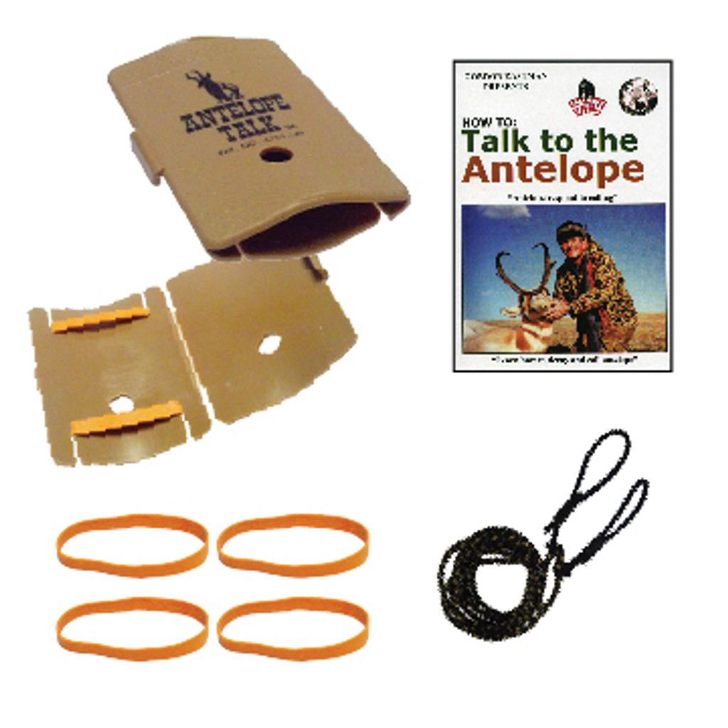 *ANTELOPE TALK W/ DVD PACKAGE SPECIAL (save $4.85)