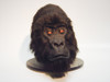 Example of the gorilla head that comes out of this mold (without the hair work).