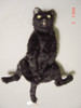 """Flexible black cat puppet, the """"nut buster"""" from Scary Movie 2"""