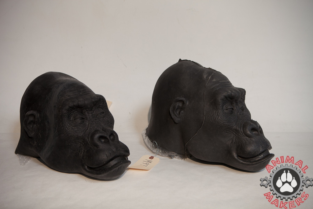 billy the gorilla face mold and rubber latex masks
