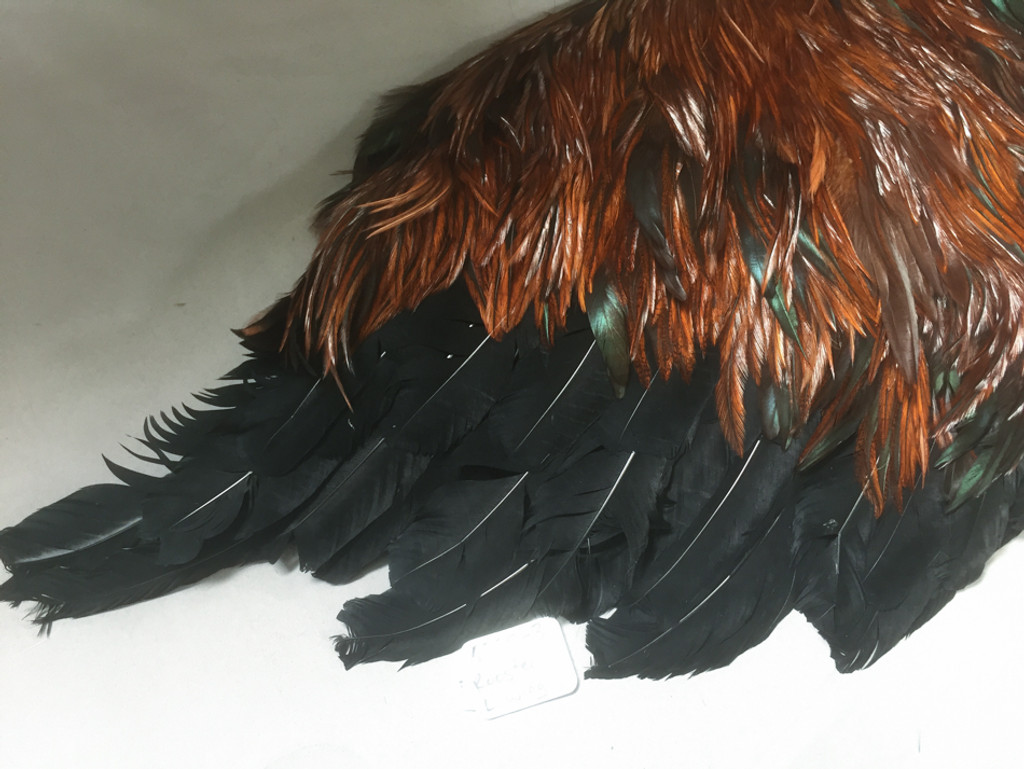 Rooster costume left wing sleeve