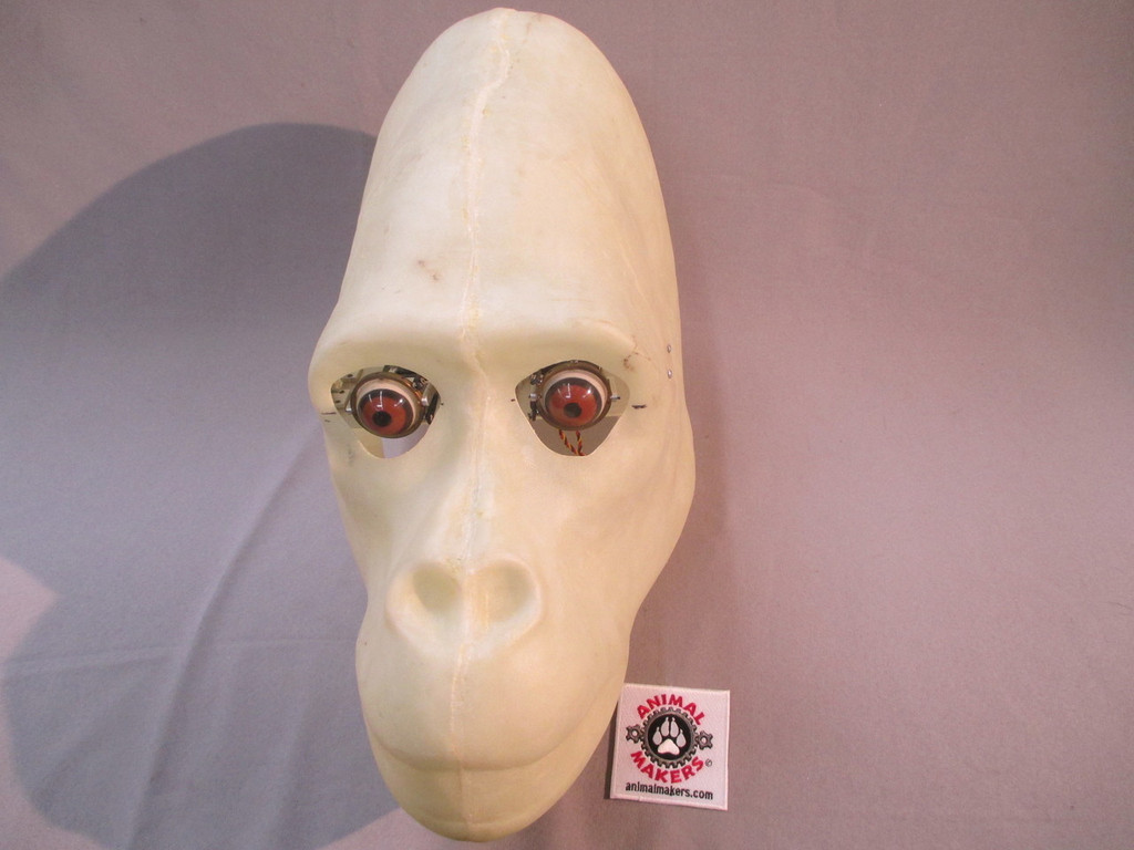 gorilla head core moving animatronic