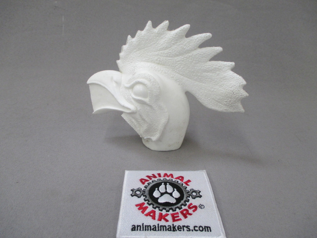 Rooster Head Core- left side profile