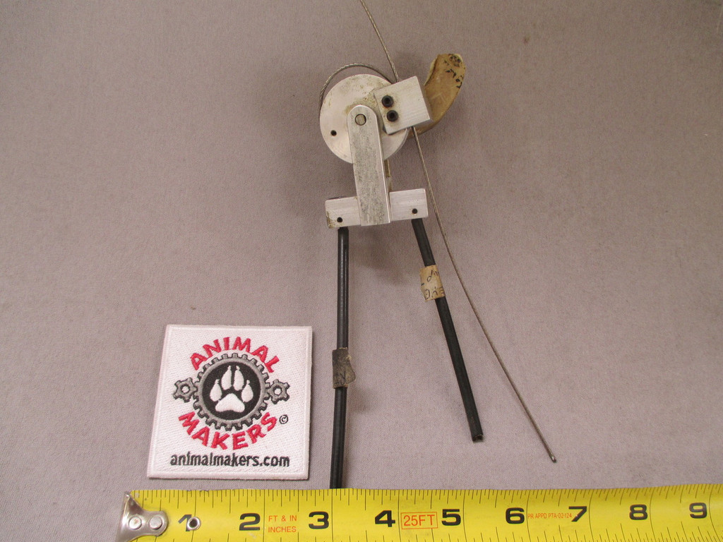 1.5 inch Pulley with bulkhead and attached bracket