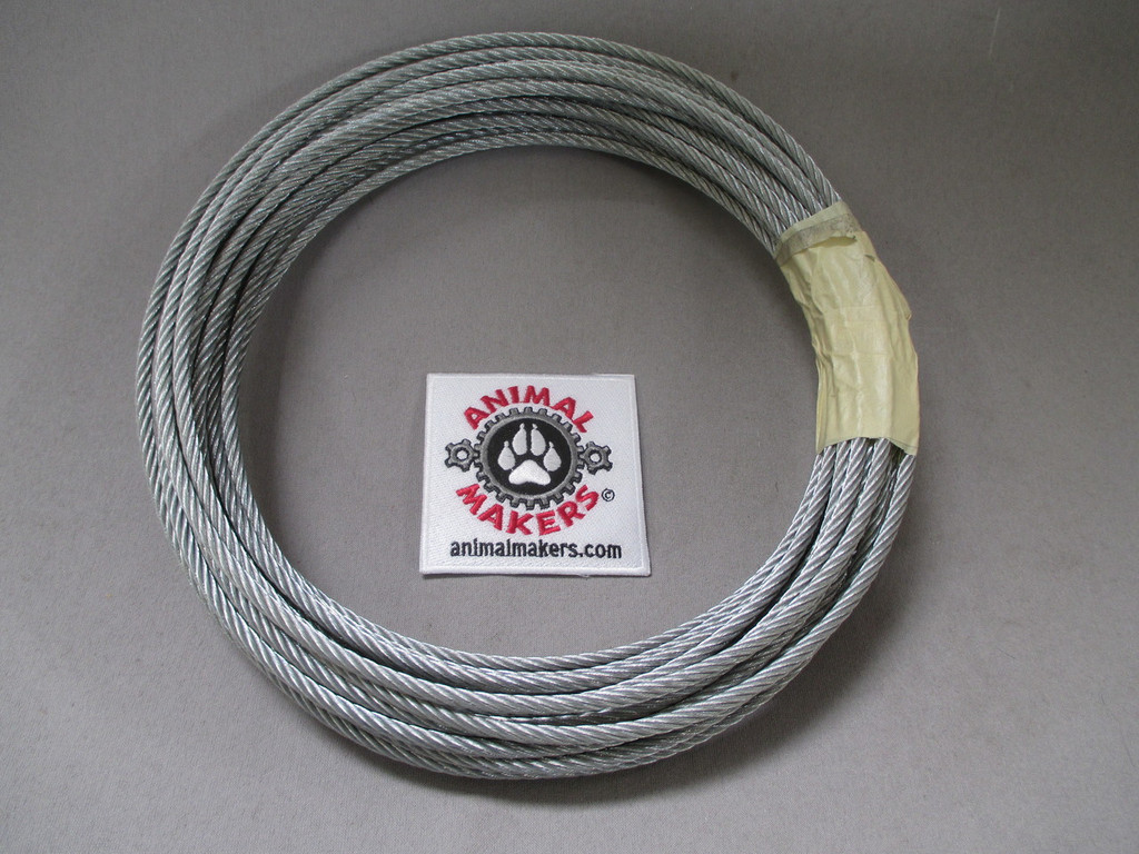 """3/16"""" Steel Cable- 50 ft. Length"""