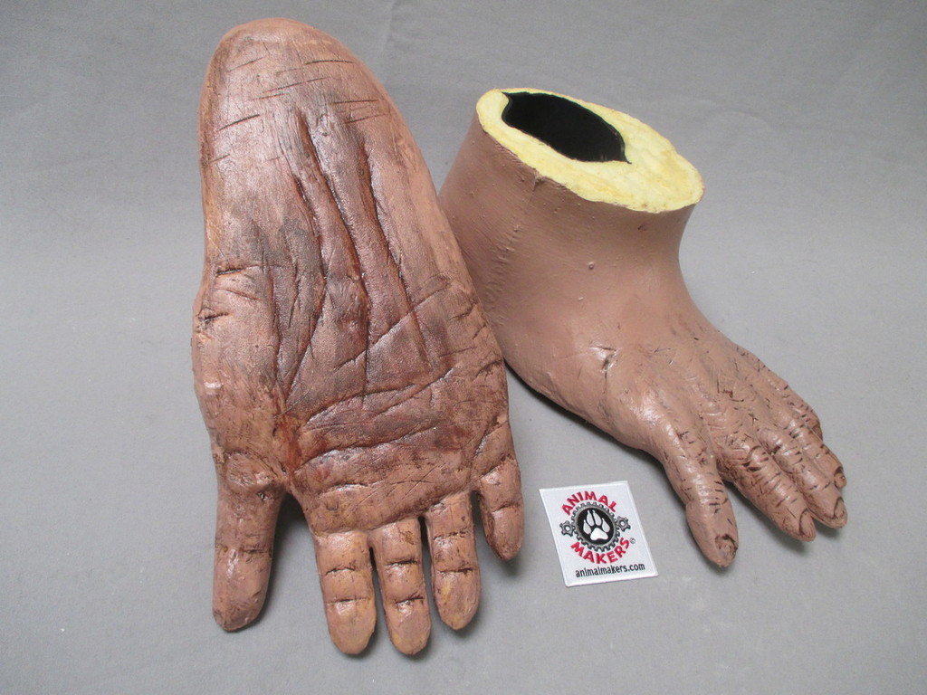 Durable latex skin, with a comfortable liner for the feet.