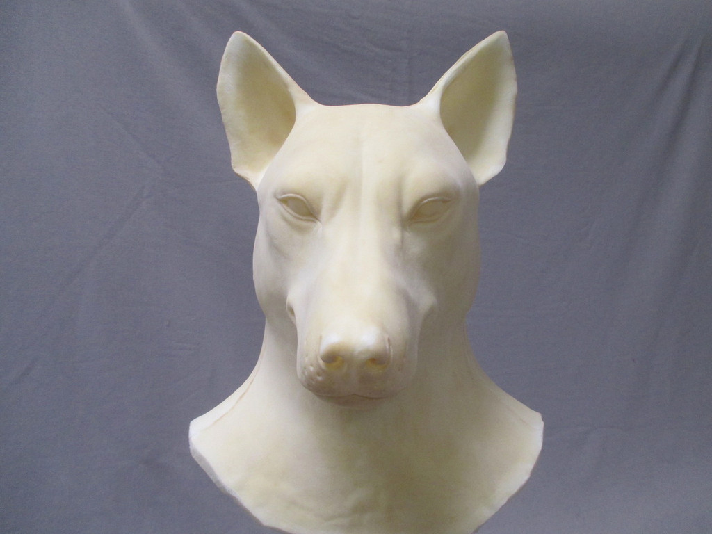 Whole Head Realistic Fox Mask