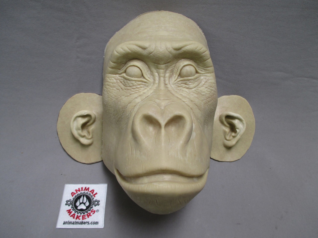 Gorilla Female Adult Face Mask Unfinished