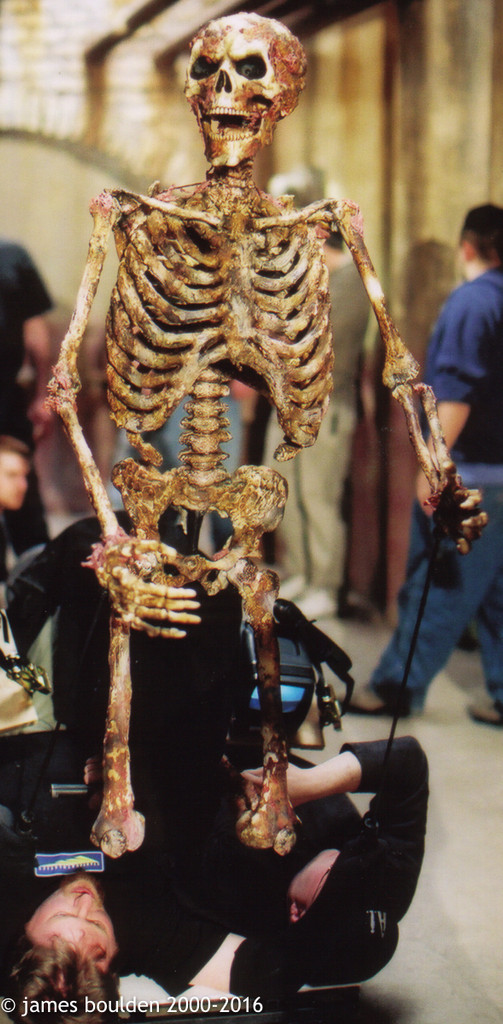 "Screen Used Human Skeleton Puppet 2 ""Scary Movie 2"""