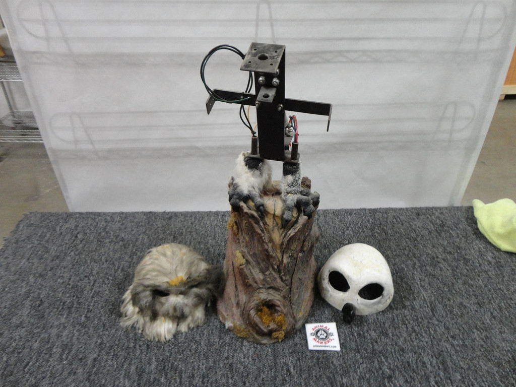 Animatronic Owl Core for Do It Yourself artists.