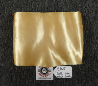 Sample Gold Synthetic Satin hide