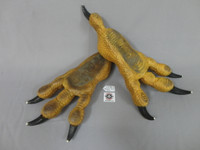 Rooster Character Costume Feet
