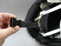 Quick clip used to hold the back of the head to the suit.  Since most of the head weight is in the front.