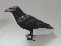 Crow Prop Bird Replica