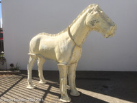 Life Sized Standing Realistic Horse Mold
