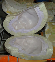 Baboon Head Core Mold