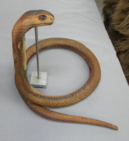 The flexible cobra snake that comes out of this art production mold set.