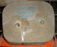 Overscaled Gopher Feet Mold