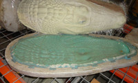 Alligator Crocodile Head and Neck Mold