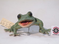 Baby Green frog puppet