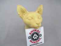"Cat head form ""Vince"" for feline prop"