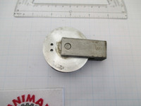 2 inch Aluminum pulley with Steel Mount no bracket